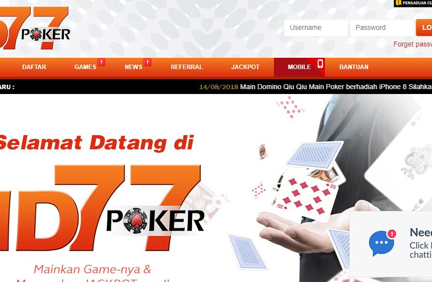 poker77id