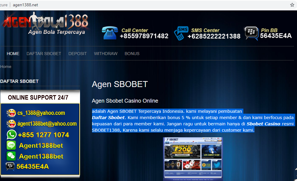 agen1388