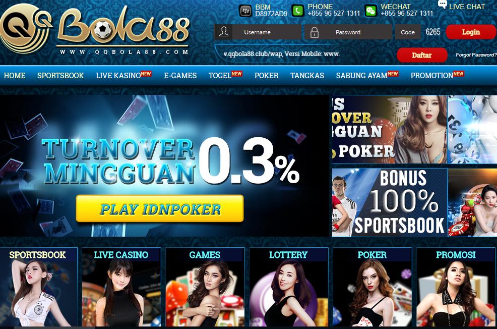 Link Alternatif QQBOLA88 Agen Live Casino Dan Bandar Bola